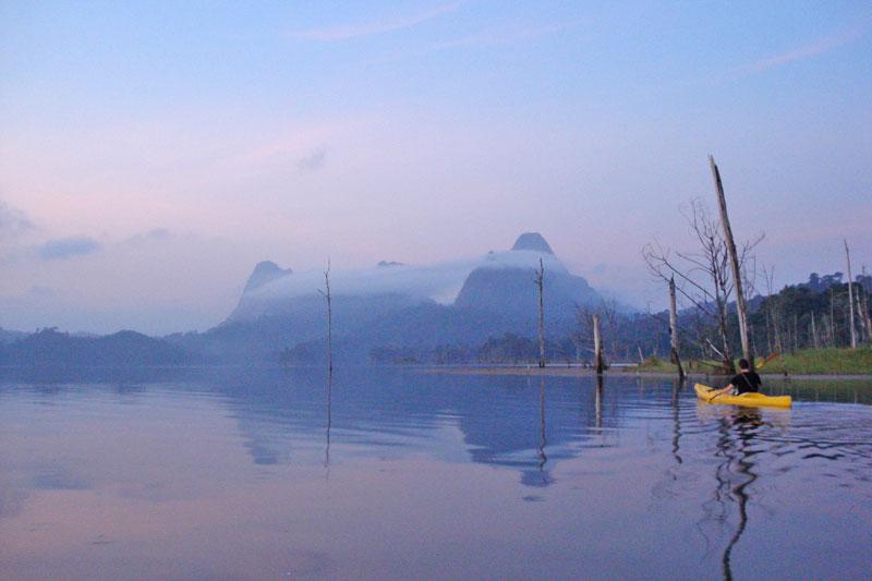 Cheow Lan Lake Kayaking