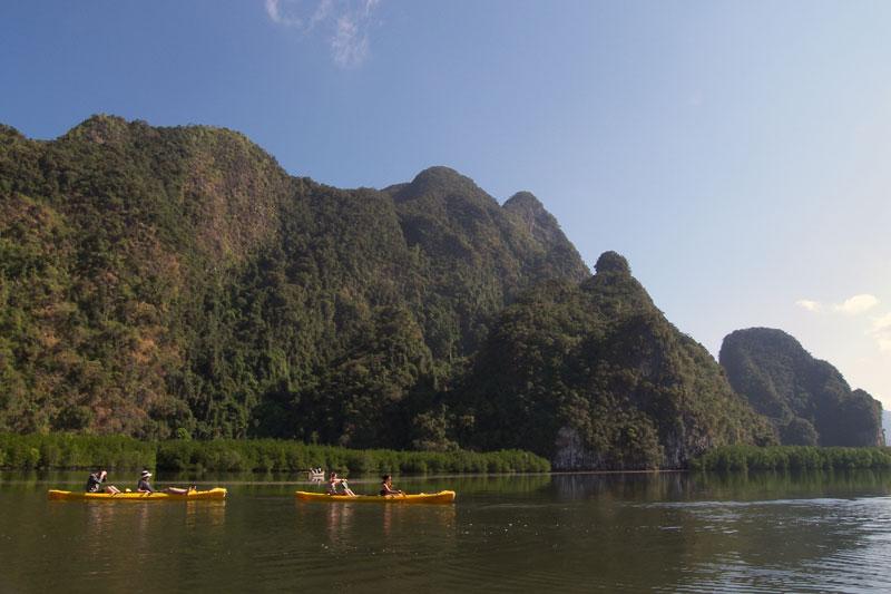 Phang Nga Bay Sea Kayaking 3D2N Tour Trip